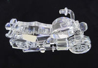 Crystal Motorcycle Model As Office Decorations Ornaments