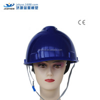 v model blue industrial safety helmets with visor ce en 397 approved promotional