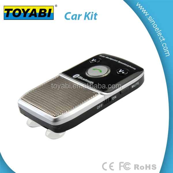 bluetooth handsfree car kit with caller ID for Mobile phone