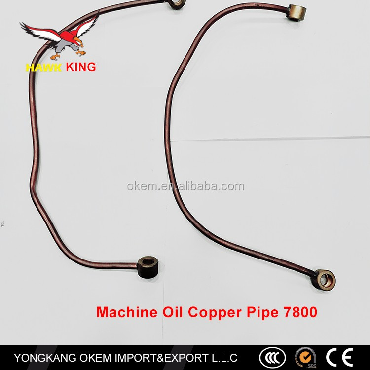 In China there are a number of experience shop chain saw parts Machine Oil Copper Pipe 7800