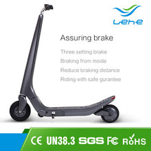 36v 8.8ah 250w brushless motor folding 2 wheel hand brake kids electric suspension kick scooter big wheels for adults