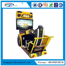 32LCD screen split second game machine car racing game machine bike racing game machine Popular new 3D motion street