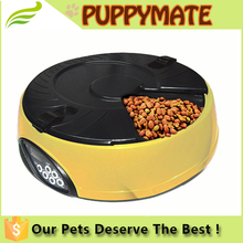 Medium capacity automatic pet feeder with sound recorder timed food supply auto dog feeder
