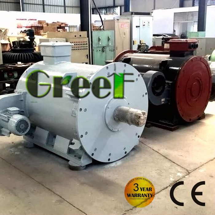 low rpm neodymium permanent magenet generator 1 mw for water power, ocean power
