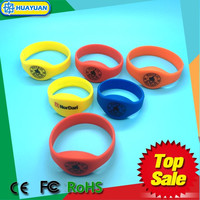 MIFARE Classic 1K gym passive rfid NFC silicon wristband bracelet