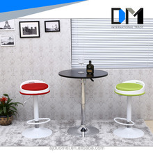 Colored Mesh Fabric Round Bar Stool Footrest Covers, Bar Tables and Chairs for Sale
