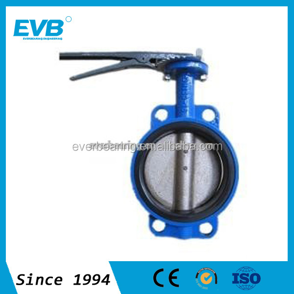 Gearbox/Handwheel Operated Wafer Type Butterfly Valve