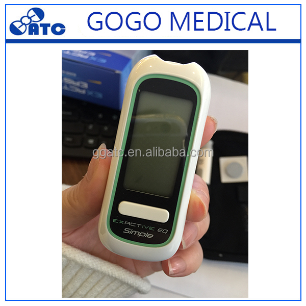 2017 CE And ISO Approved High Accuracy Easy And Quick Test Blood Glucose Meter Blood Sugar Monitor And Glucometer