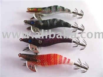 Japanese Squid Jigs Size 2.0/2.5/3.5 Naturel Colors Fishing lure
