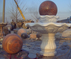 factory supply marble fountain ball hot sale