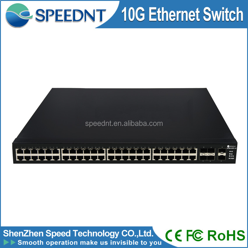 Network Switch 10/100/1000Mbps switch administrable 10 gigabit switch 48 port gigabit switch