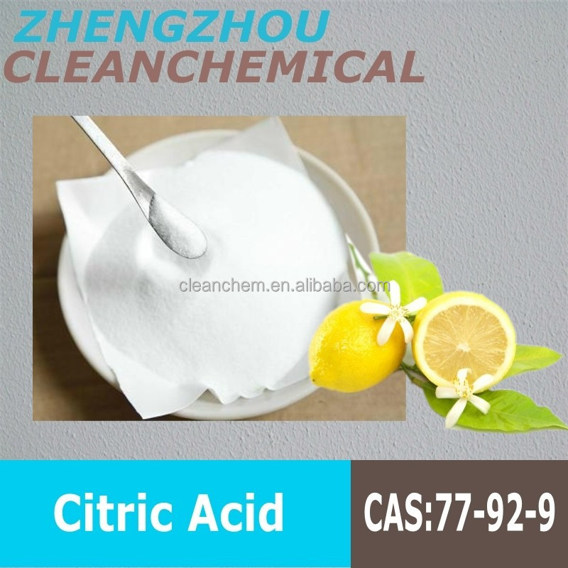 [2015 GO! ] CAS No.:77-92-9 citric acid monohydrate bp98