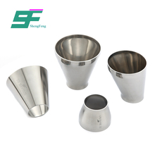 Low price excellent performance durable pipe fitting stainless steel hygienic reducer