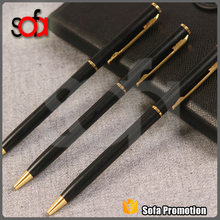 china wholesale Promotional Customized advertising gift ballpoint Heavy Metal Pen