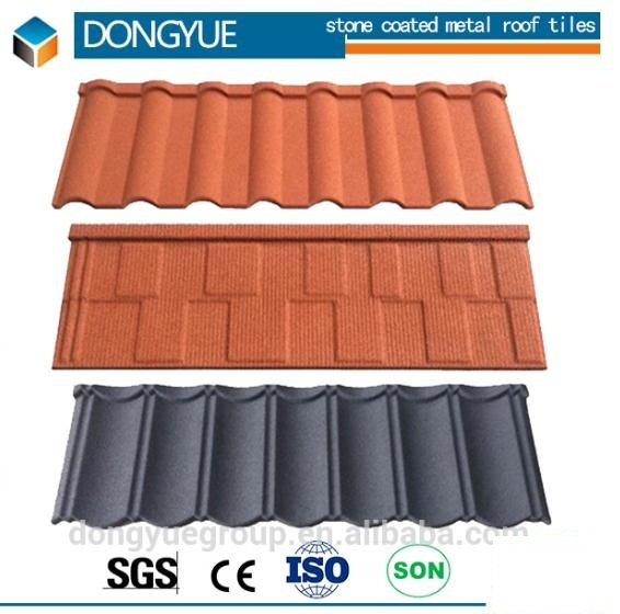 high quality stone coated metal roof tiles building material
