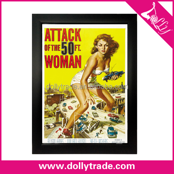 Hot Sale Attack of The 50 FT Women Abstract Fat Woman Canvas Oil Paintings