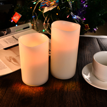 Party/holiday decoration multicolored flameless LED tea light candle