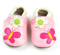 Cute Baby Walking Shoes Butterfly Baby Shoes Leather Shoes For Kids Girls