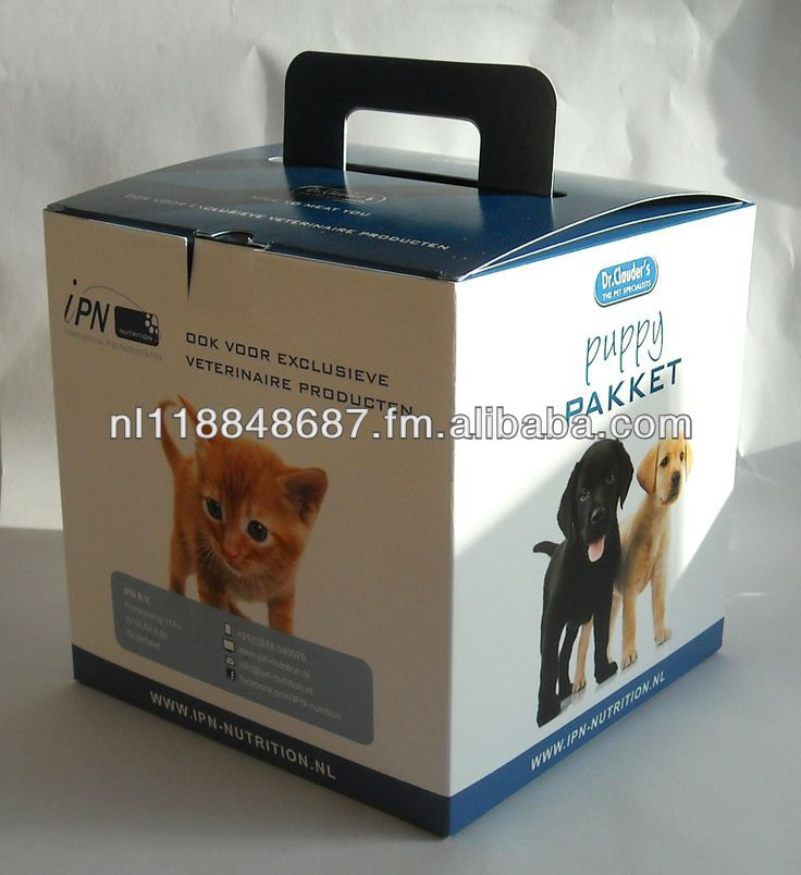 paper box printed custom made with handle