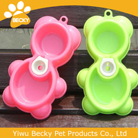 Feeder food water dog tray bowls automatic pet dish