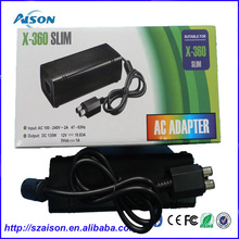 AC adapter Power Supply Cord for Microsoft Xbox 360 Slim 135w Power Brick