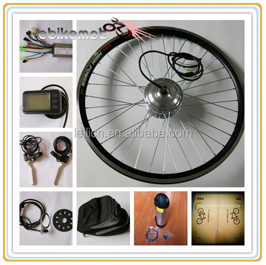 EN15194 electric bike motor with 250W rear motor brushless motor 36V battery bike XY-EB001F