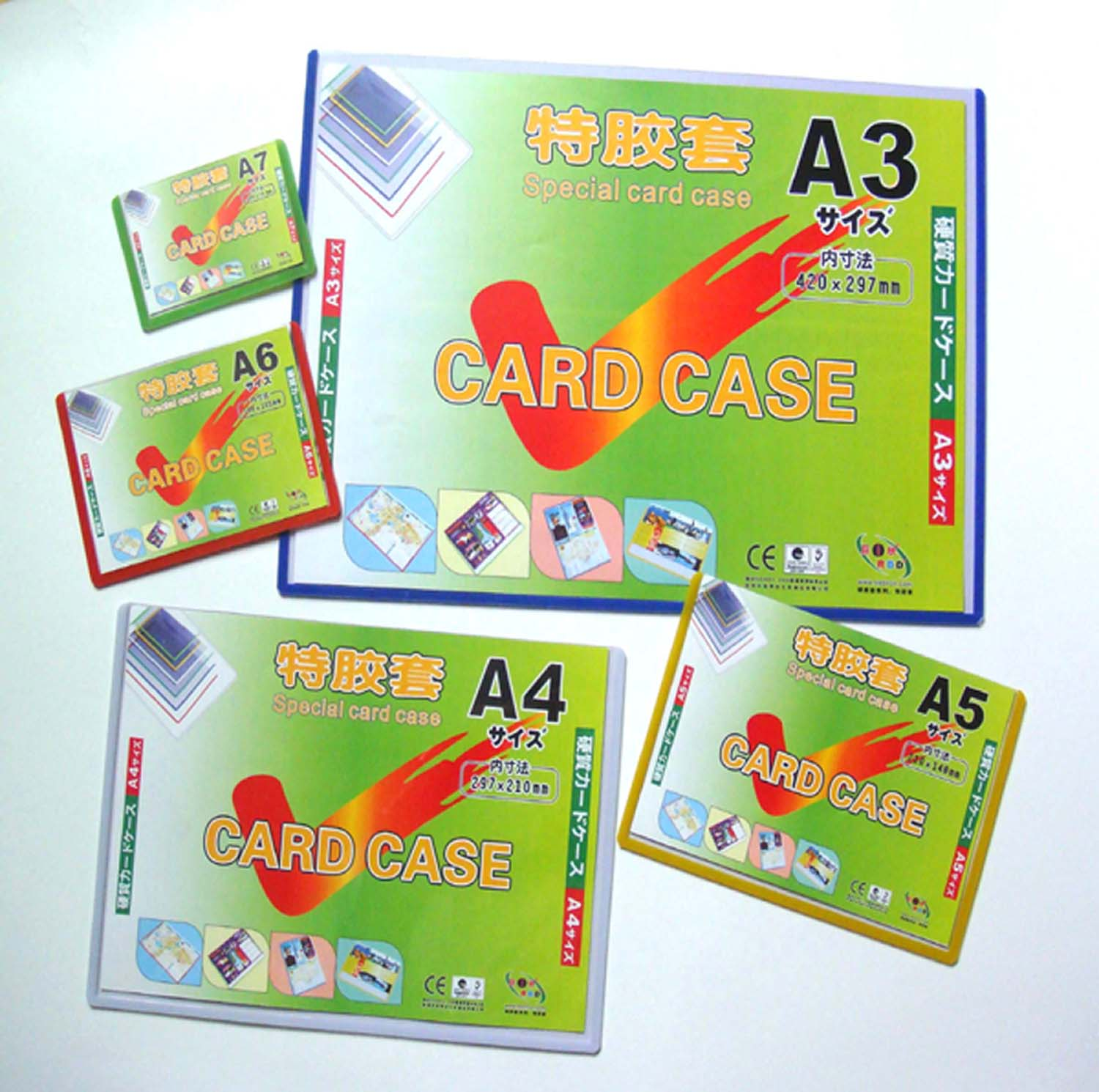 special card case,picture photo frame,hard pvc holder