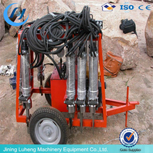 LH-800 hot brand hydraulic rock splitting machine for sale