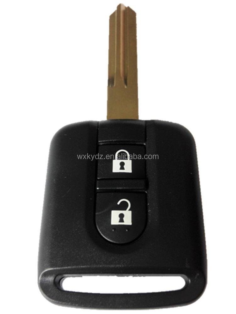 2 button Keyless entry smart key for Nissan