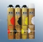 PU foam sealant for descoration and construction