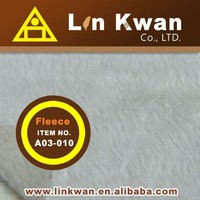 Taiwan LK A03-010 double face polor fleece knitted fabric non woven polyester felt