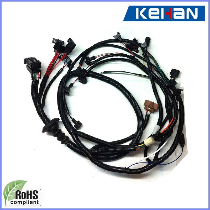 Oem Automotive Wiring Harness : Oem odm car wire harness cable assembly wiring