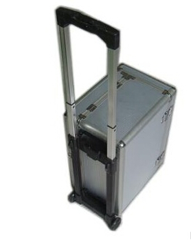 Aluminum Tool Cosmetic Case Box Bag With Trolley High Quality,Designs