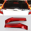 1Pair Car 12V 10W ABS+LED Rear Tail Pillar Lamp Break Light Warning Signal For Honda Fit Jazz 3rd 2014 2015 2016