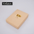 jewelry display box kraft gift box paper jewelry box manufacturers Yiwu