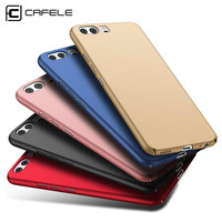 CAFELE Luxury Phone Cases Hard PC Original Smooth Frosed Fundas Back Cover For Huawei P10 Plus Case