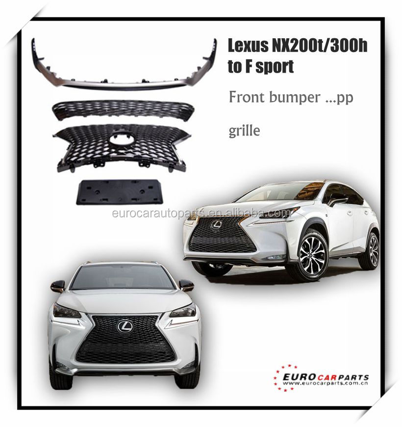 NEW ARRIVAL!!! body kit for lexus Nx200t/300h upgrade to F sport facelift /front bumper with grill