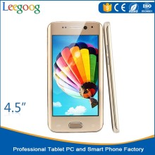 4.5 inch MTK6572 dual core 3G smart phone from china factory