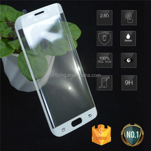 stock promotion sale!For Samsung Galaxy S6 edge tempered glass screen protector Curved design with retail or bulk package