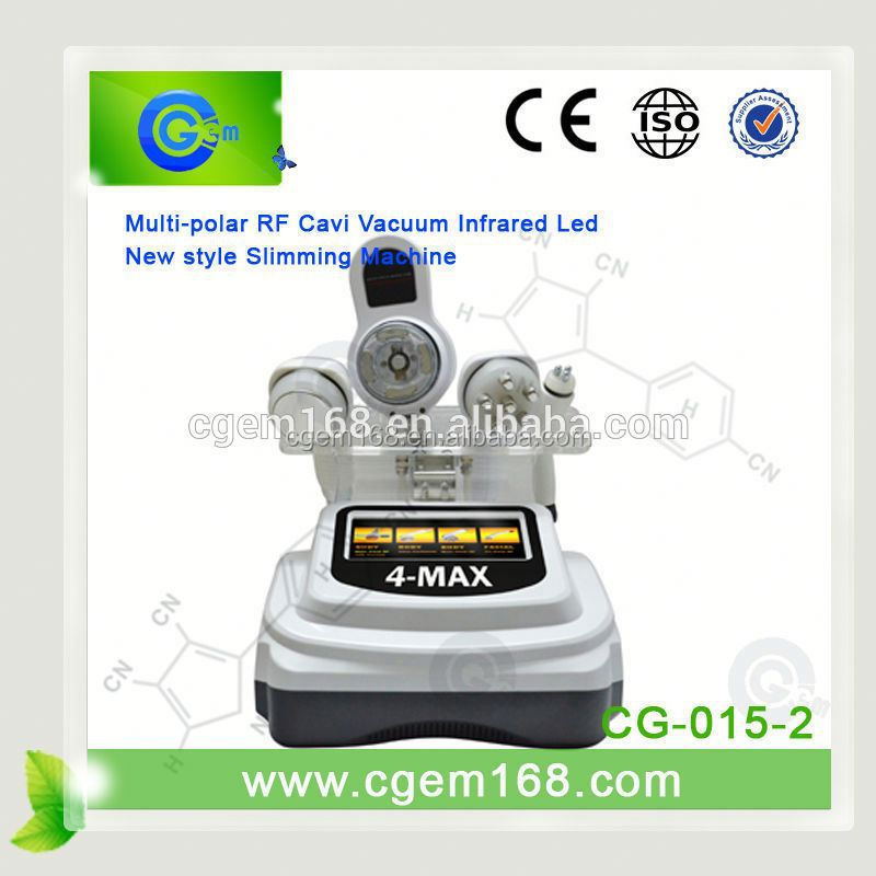 CG-015-2 Multifunction Hot Sale 4 in 1 ultrasonic cavitation fda approved with factory price