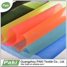 in-stoke micro light weight polyester mesh fabric for shoes material