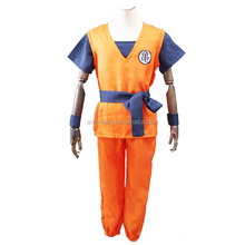 Japanese hot anime Dragon Ball Turtle goku orange short sleeve unisex uniform clothes cosplay costume