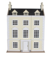 Traditional big Wooden doll house