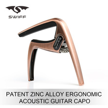 Swiff Ergnomic Shape Zinc Alloy Acoustic oem Customized Guitar Capo