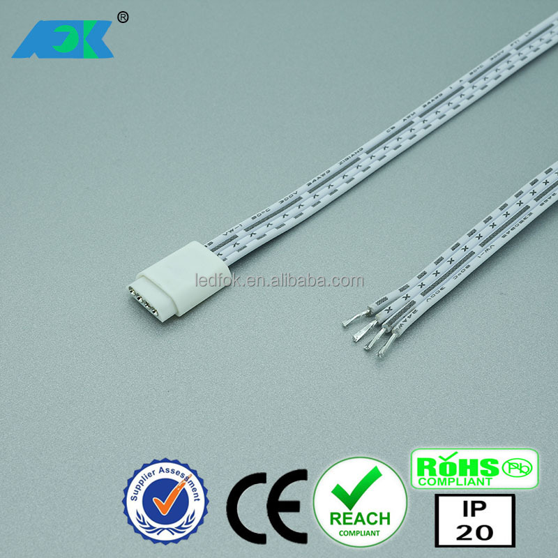 3A 72W LED RGB 4 pin female to male power extension wire/eletric power cable