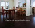 Chinese supplier Kanger Walnut Strand Woven Bamboo Flooring for interior finish