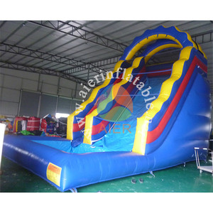 Professional Inflatable Manufacturer Cheap Adult Children Inflatable Water Slides With Pool For Sale