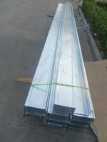 Hot dip galvanized steel cable trunking with cover made in china