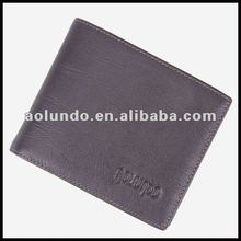 New design casual black importer of leather wallets