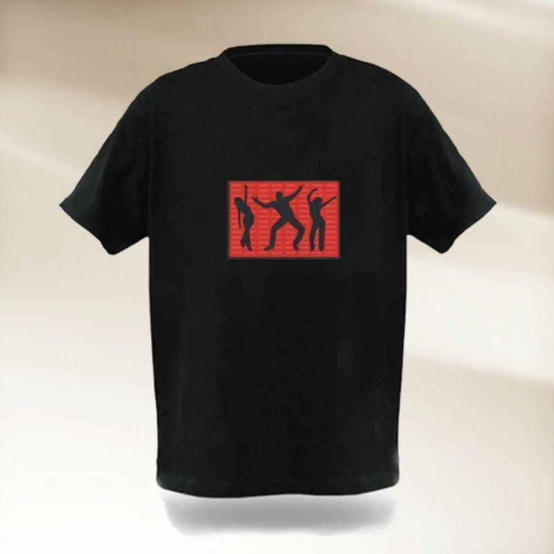 2011 year new design led t shirt